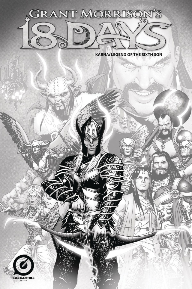 18 Days: Karna, Legend of the Sixth Son #1 (Cover P)