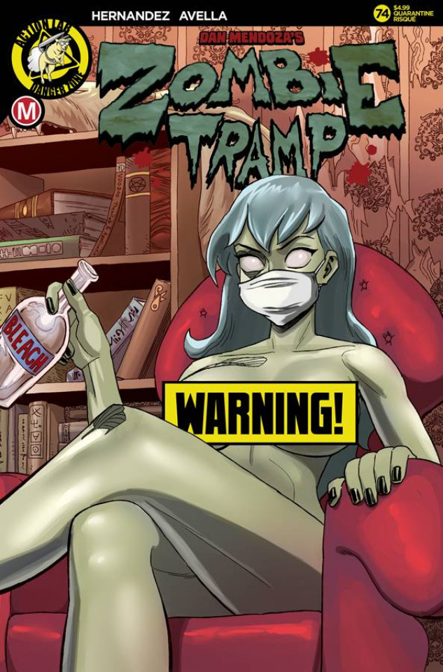 Zombie Tramp #74 (Young Risque Cover)