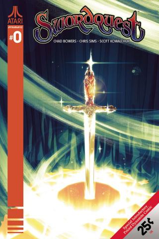 Swordquest #0 (Montes Cover)