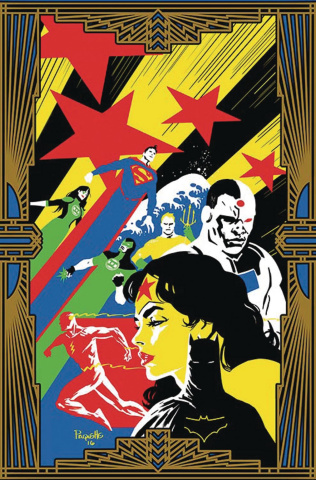 Justice League #10 (Variant Cover)