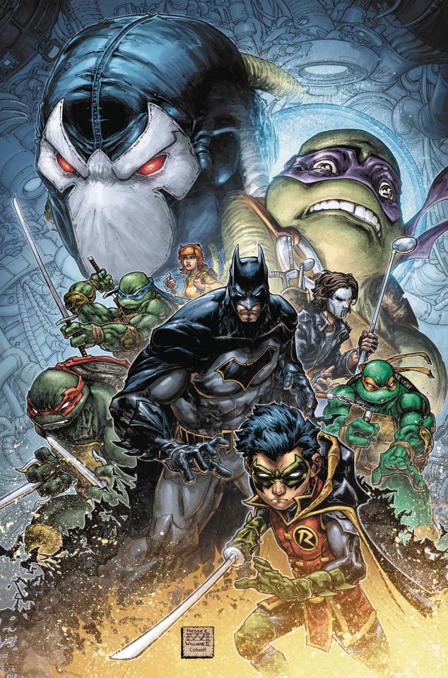 Batman / Teenage Mutant Ninja Turtles II #1