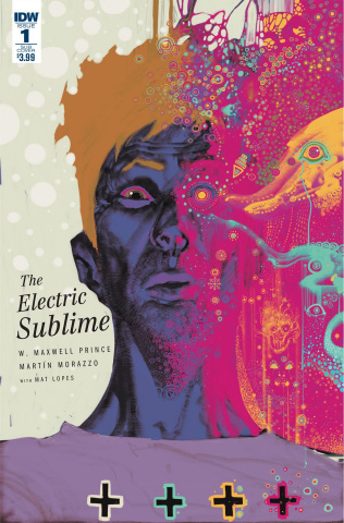 The Electric Sublime #1 (Subscription Cover)