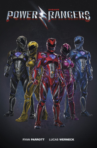 Power Rangers: Aftershock (Photo Cover)