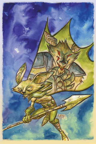 Mice Templar: The Legend #7 (Oeming Cover)