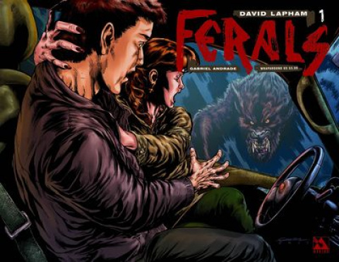 Ferals #1 (Wrap Cover)