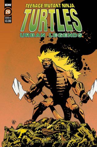 Teenage Mutant Ninja Turtles: Urban Legends #26 (Kuhn Cover)