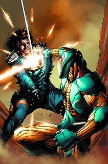 X-O Manowar #15 (Hairsine Cover)