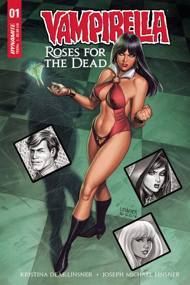 Vampirella: Roses for the Dead #1 (Linsner Cover)
