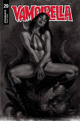 Vampirella #20 (10 Copy Parrillo B&W Cover)
