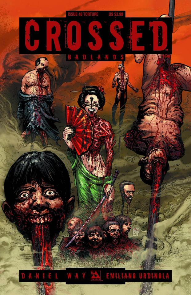 Crossed: Badlands #46 (Torture Cover)
