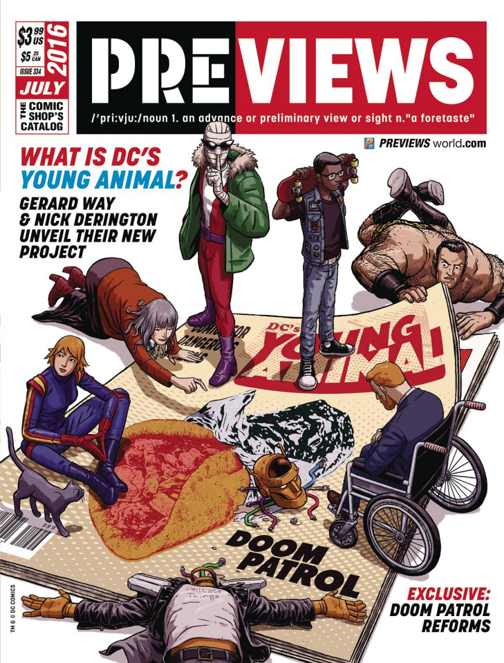 Previews #334: July 2016