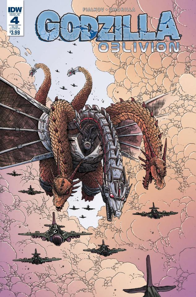 Godzilla: Oblivion #4 (Subscription Cover)