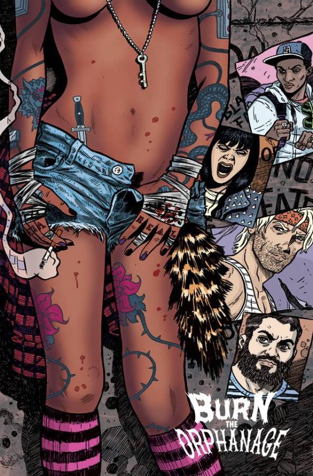 Burn the Orphanage: Reign of Terror #1 (Belanger Cover)