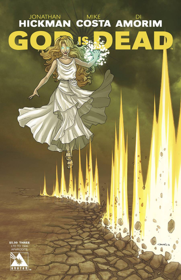 God Is Dead #3 (Aphrodite Cover)