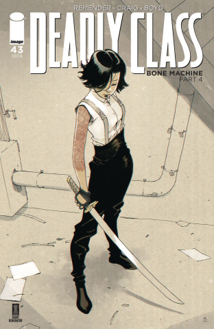 Deadly Class #43 (Bengal Cover)