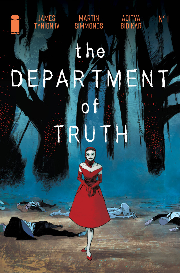 The Department of Truth #1 (100 Copy Delledera Cover)