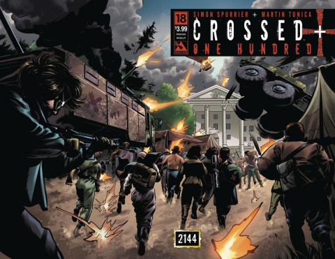 Crossed + One Hundred #18 (American History X Wrap Cover)