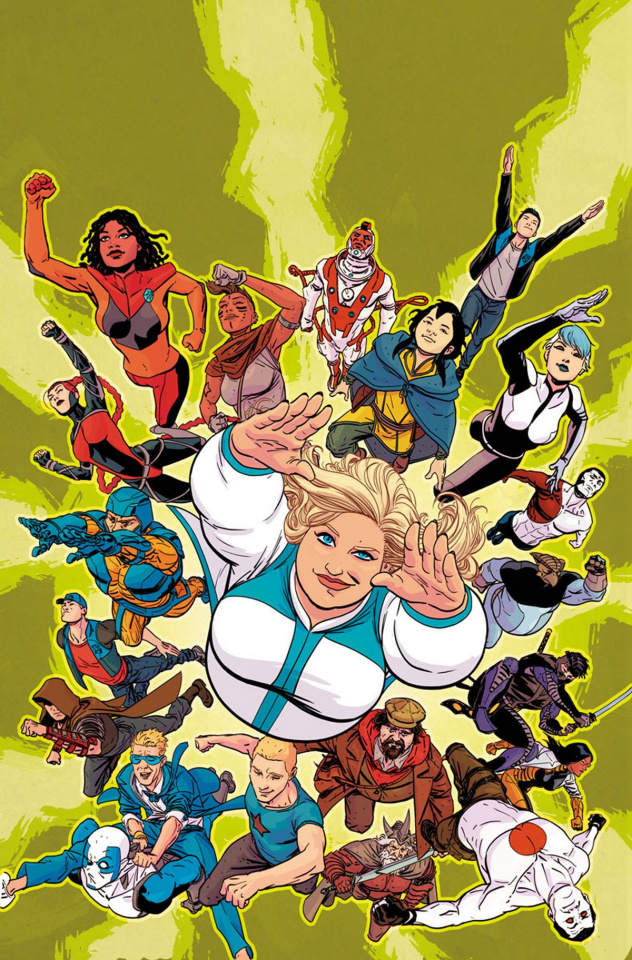 Faith and the Future Force #1 (Kano Cover)