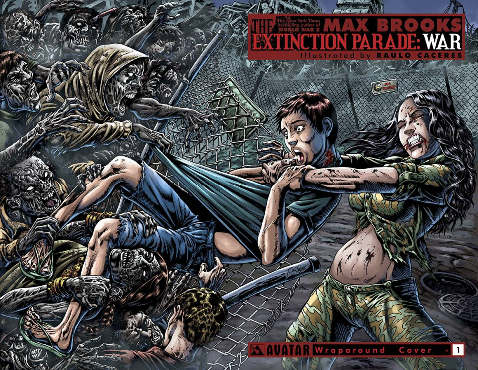 The Extinction Parade: War #1 (Wrap Cover)