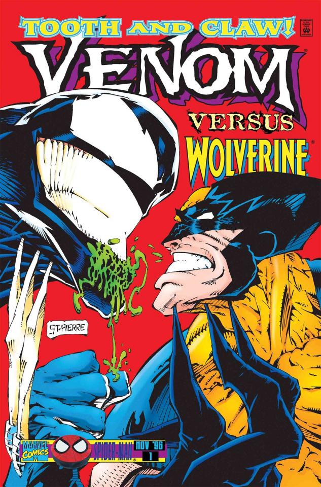 Wolverine vs. Venom #1 (True Believers)