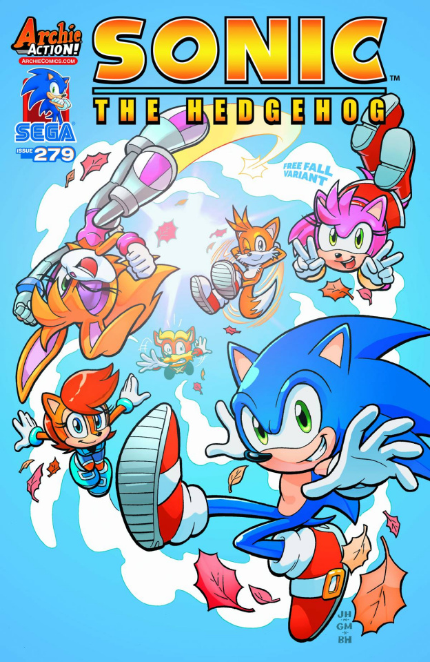 Sonic the Hedgehog #279 (Knight Cover)