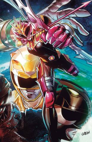 Power Rangers: Drakkon - New Dawn #1 (Convention Cover)