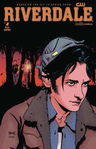 Riverdale #4 (Hack Cover)