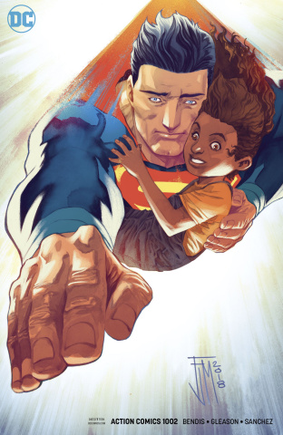 Action Comics #1002 (Manapul Cover)