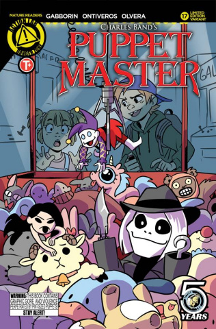 Puppet Master #17 (Cute Cover)