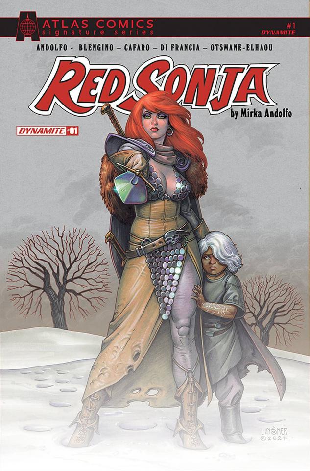 Red Sonja #1 (Atlas Signed Edition)