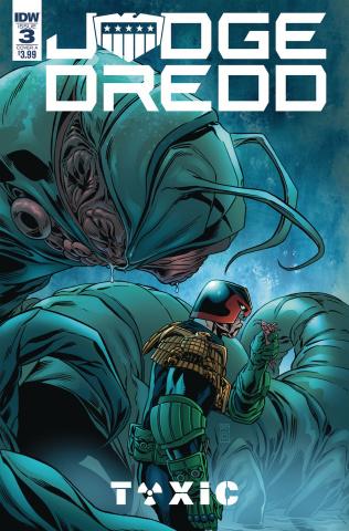 Judge Dredd: Toxic #3 (Buckingham Cover)