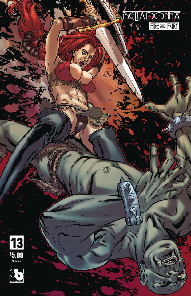 Belladonna: Fire and Fury #13 (Vicious Cover)