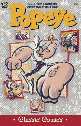 Popeye Classics #33 (10 Copy Cover)