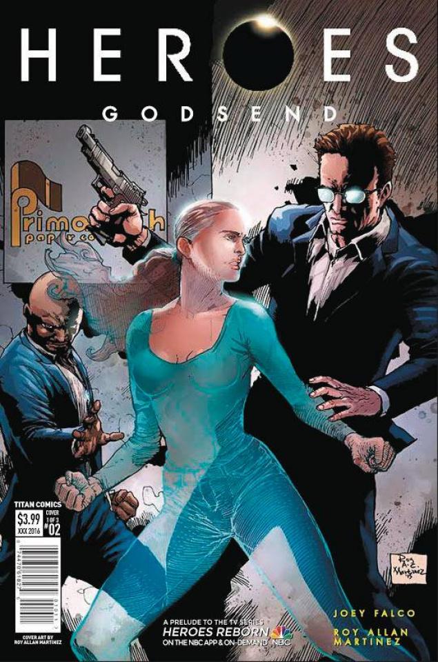 Heroes: Godsend #2 (Martinez Cover)