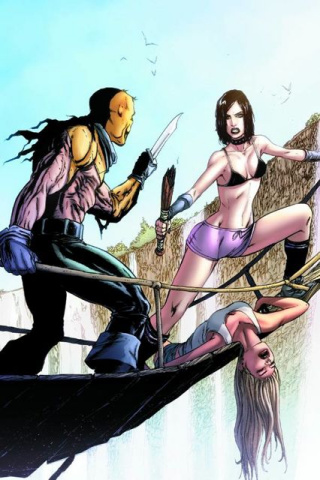Hack/Slash #15 (Seeley & Rosenberg Cover)