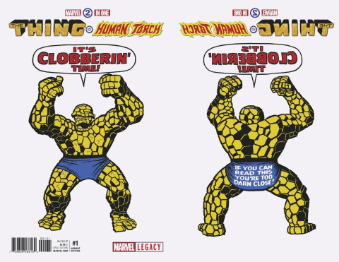 Marvel Two-In-One #1 (Kirby 1965 T-Shirt Cover)