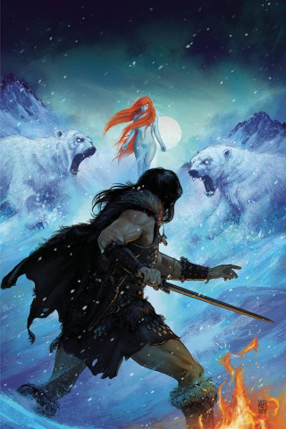 The Cimmerian: The Frost Giant's Daughter #3 (Vance Kelly Cover)