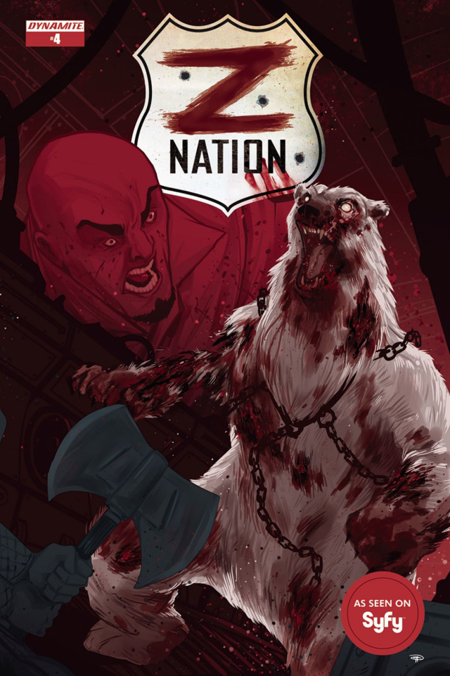 Z Nation #4 (Medri Cover)
