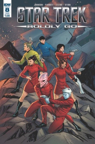 Star Trek: Boldly Go #8 (Subscription Cover)