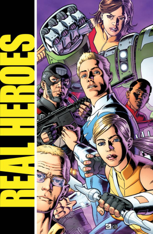 Real Heroes #2 (Gibbons Cover)