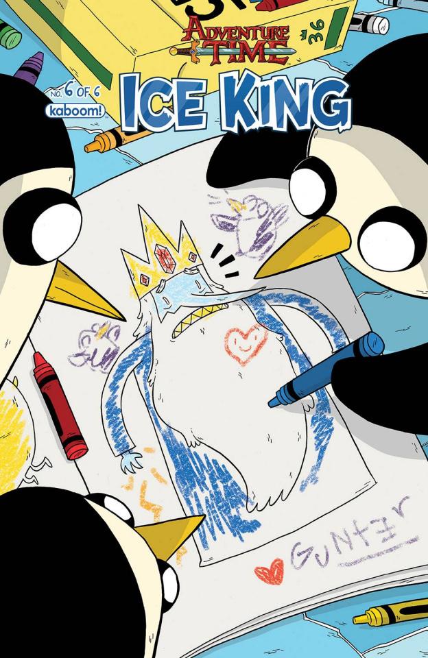 Adventure Time: The Ice King #6 (Subscription Naujokaitis Cover)