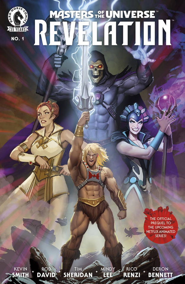 Masters of the Universe: Revelation #1 (Sejic Cover)