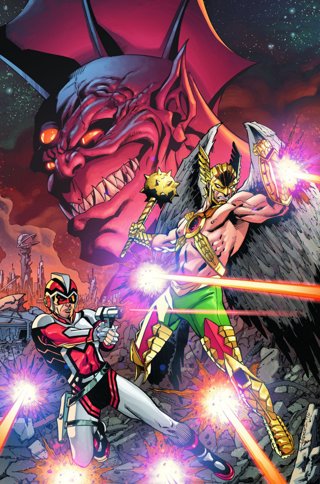 Hawkman and Adam Strange: Out of Time #1