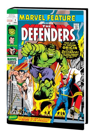 The Defenders Vol. 1 (Omnibus Adams Cover)