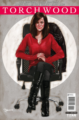 Torchwood 2 #1 (Myers Cover)