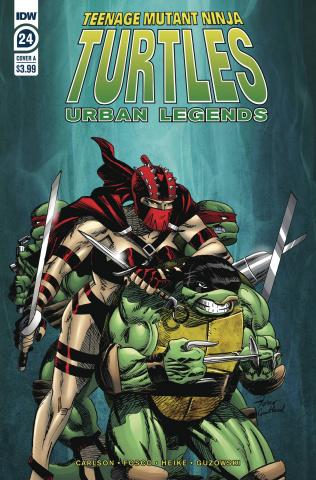 Teenage Mutant Ninja Turtles: Urban Legends #24 (Fosco Cover)