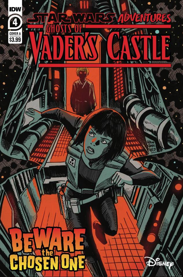 Star Wars Adventures: Ghosts of Vader's Castle #4 (Francavilla Cover)