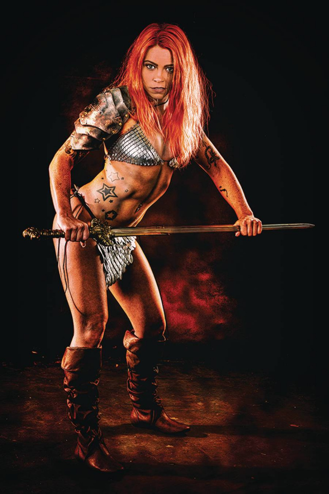 Red Sonja: The Price of Blood #2 (20 Copy Cosplay Virgin Cover)