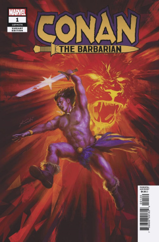 Conan the Barbarian #1 (Fagan Cover)