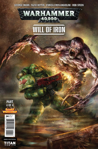 Warhammer 40,000: Will of Iron #4 (Percival Cover)